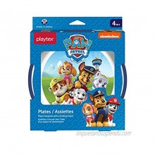Playtex Mealtime Paw Patrol Plates for Boys 2 Pack