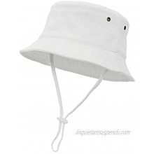 Baby Boy Sun Hat Toddler Infant UPF 50+ Sun Protection Baby Bucket Hats with Wide Brim Bucket for Beach Outdoor