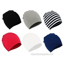 Zando Baby Cotton Beanies for Boys Toddler Knit Hats Cute Warm Infant Beanies for Baby Girls Newborn Caps
